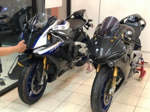 Yamaha R15 do cuc shock voi cau hinh tuong tu dan anh R1M [Video]