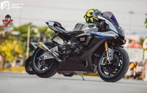 Yamaha R1M cực phẩm độ ấn tượng với dàn chân Rotobox cao cấp