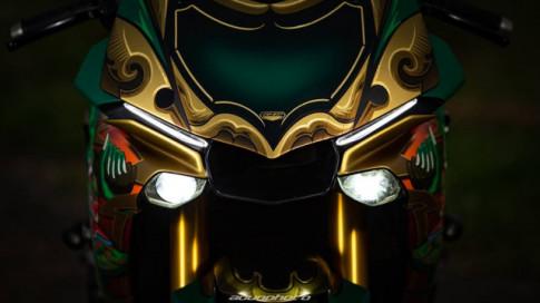 YAMAHA R1M đậm phong cách với style vị thần Châu Á