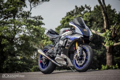 Yamaha R1M dien kien cong dong PKL voi dien mao Full Carbon dep me hon