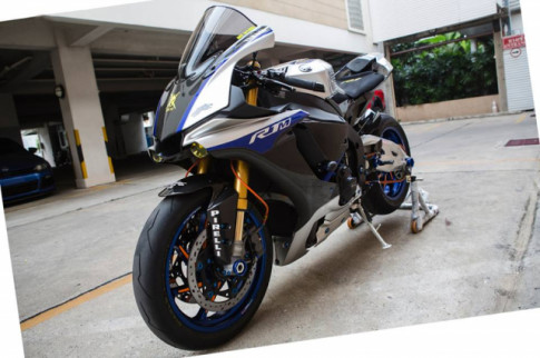 Yamaha R1M do nhuc nach voi dan chan 2 line day noi bat