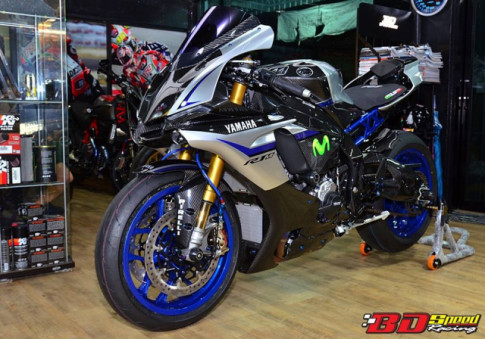 Yamaha R1M kha hap dan voi loi xay dung dang cap tu Bd Speed Racing