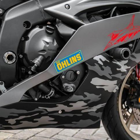 Yamaha R6 do cuc chat theo phong cach nha Binh voi dan ao Camo