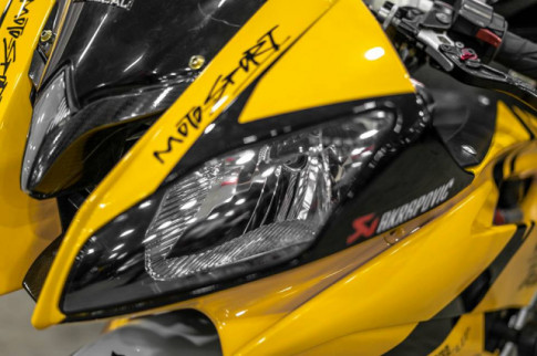 Yamaha R6 do hop hon nguoi ham mo voi phong cach Yellow Sporty tren dat Viet