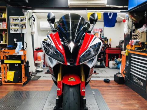 Yamaha R6 hoi sinh mot huyen thoai da bi lang quen