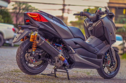 Yamaha X-Max300 do gay can voi he thong phanh Brembo Billet cao cap