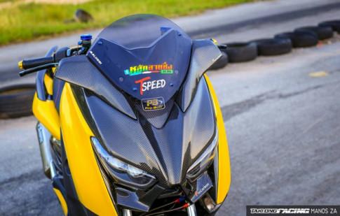 Yamaha X-Max300 hào nhoáng với dàn đồ chơi mang tính công nghệ