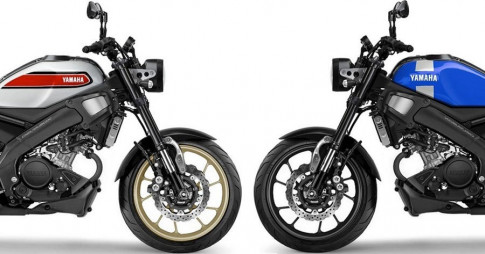Yamaha XSR155 va XSR300 moi hop luc de tan cong thi truong Neo Retro