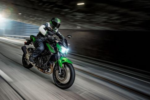 Z400 ABS 2019 mau Nakedbike hoan toan moi cua Kawasaki