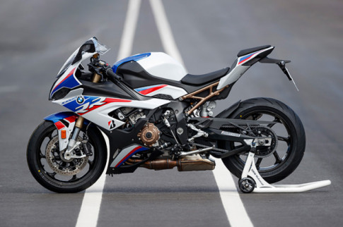 BMW da nop don dang ky goi cao cap M Performance cho S1000RR, S1000XR va R1250GS
