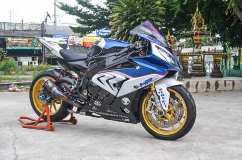 BMW S1000RR do phong cach 'xin xo' cua Biker Thai