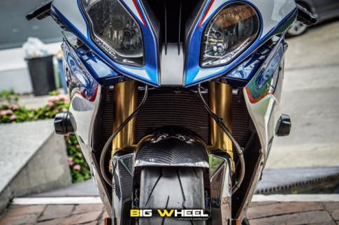 BMW S1000RR do sieu an tuong voi phong cach HP4
