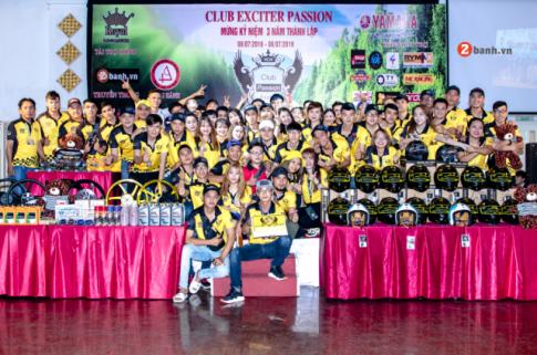 Club Exciter Passion: 3 năm một chặng đường với dòng xe Yamaha Exciter