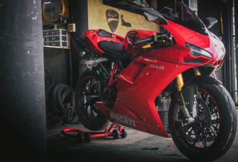 Ducati 848 Sport hồi sinh trong diện mạo mới toanh cực kì chất chơi