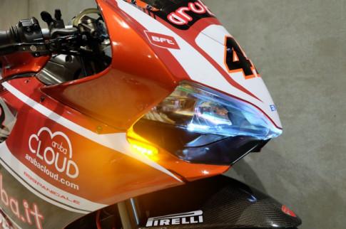 Ducati Panigale 899 do cuc dinh day hap dan voi phong cach WSBK