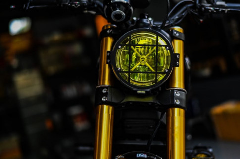 Ducati Scrambler 1100 tuy chinh dac biet den tu Mugello