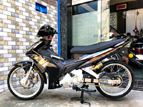Exciter 135 phien ban 2006 do day tam huyet cua dan choi Sai Gon