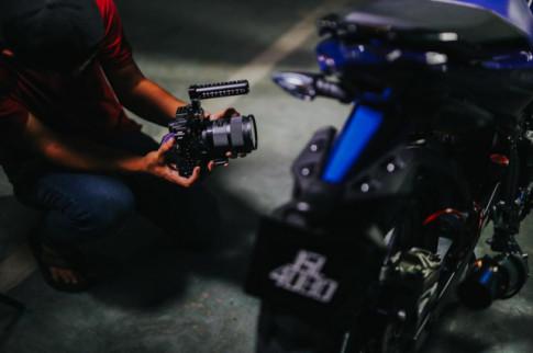 Exciter 150 độ option đồ chơi tuyệt đỉnh dưới ống kính máy ảnh