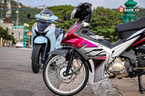 Exciter 2010 do: chu bao hong so huu doi chan than toc cua biker Vung Tau
