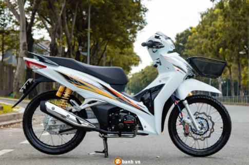 Future do: man hoa than thanh Wave 125 dep nhu Ngoc Trinh cua biker Viet