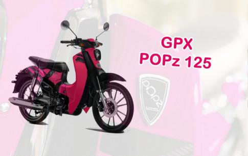GPX POPz 125 2019 ra mắt thiết kế mới với giá bán 31 triệu đồng