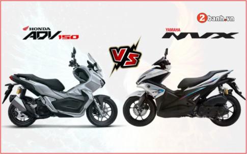 Honda ADV 150 co dac biet khien Yamaha NVX 155 phai lo so?