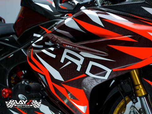 Honda CBR250RR độ choáng ngợp với dàn chân hiệu năng cao