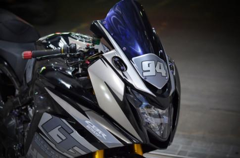 Honda CBR650F độ mê hồn với phong cách tem đấu cùng dàn đồ chơi đắt tiền