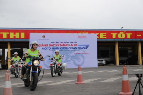 Honda Việt Nam phối hợp với CSGT triển khai hoạt động về An toàn giao thông 2019