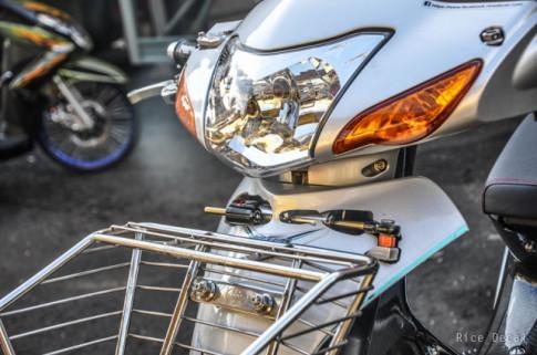 Honda Wave độ cực chất nhưng lạ mắt với phong cách Inox thần thánh