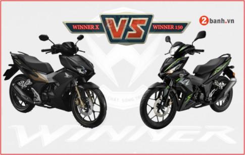 Honda Winner X co gi khac biet so voi Winner 150 the he cu?