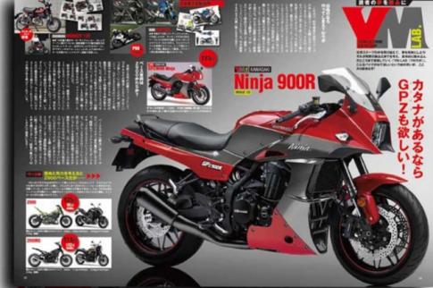 Kawasaki du kien hoi sinh GPZ900R thach thuc Suzuki Katana hien nay