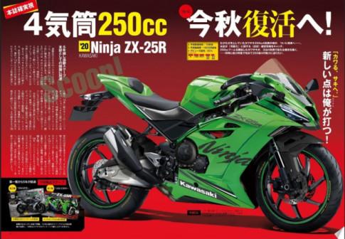 Kawasaki Ninja ZX-25R moi nhat co the duoc chia lam 2 phien ban