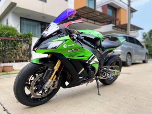 Kawasaki ZX-10R phien ban World Champion Edition hang hiem do full bai