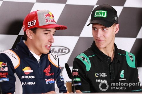 [MotoGP 2019] Marquez cho rang Quartararo se con chiu nhieu ap luc sau nay
