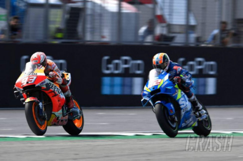 [MotoGP 2019] Marquez noi dien vi 2 that bai lien tiep o goc cua cuoi duong dua