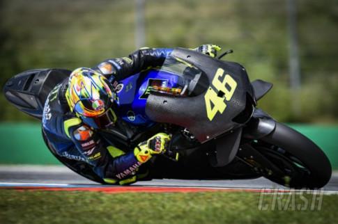 [MotoGP 2019] Rossi lan dau thu nghiem Yamaha M1 2020 tai Cong Hoa Sec