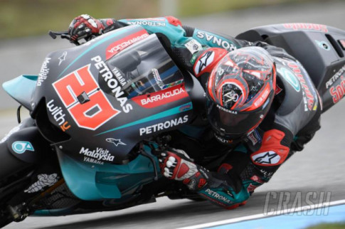 [MotoGP 2019] Tong ket thoi gian thu nghiem GP Brno - Tan binh Quartararo nhanh nhat