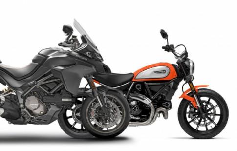 Multistrada 1260 S Grand Tour và Scrambler Icon Dark: 2 mô hình mới chuẩn bị được ra mắt