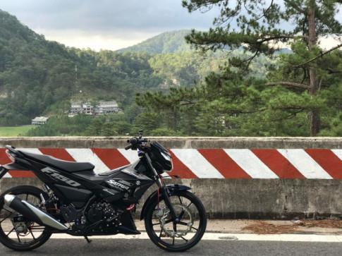 Satria 150 do nhe nhang cua chang hoc sinh trung hoc pho thong