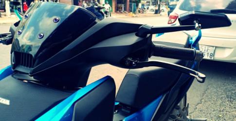 Winner X do dan phanh Brembo cuc chat cua biker Long Xuyen