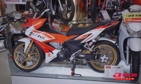 Winner X với phiên bản Repsol độ hết bài ngay tại Head Honda
