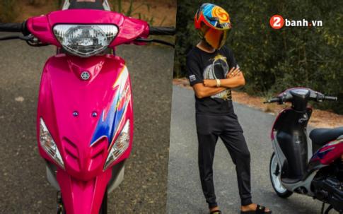 Yamaha Mio do: bao hong lot xac dep ma mi voi mam Racing boy 8 cay