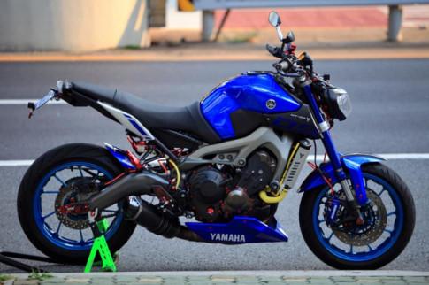 Yamaha MT-09 độ đầy chất chơi với dàn đồ chơi đỉnh khỏi chỉnh
