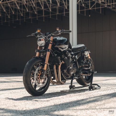Yamaha XJR1300 độ hầm hố với diện mạo Muscle Retro