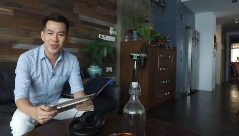 Nha dep cua sao: Can nha tri gia 10 ty dong cua ca si Ho Trung Dung