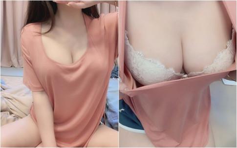 "Xinh dep va goi cam, hot girl van nhan ""gach da"" boi man vach ao khoe nguc pho phang"