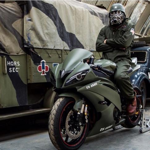 Yamaha R6 do - Chan dung ngua hoang phong cach con nha binh