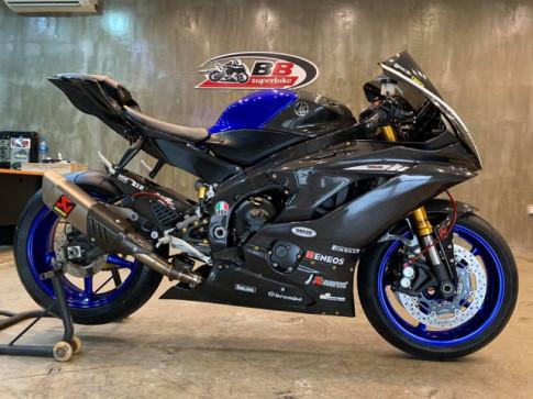 Yamaha R6 nang cap vuot troi voi bo canh Full Carbon