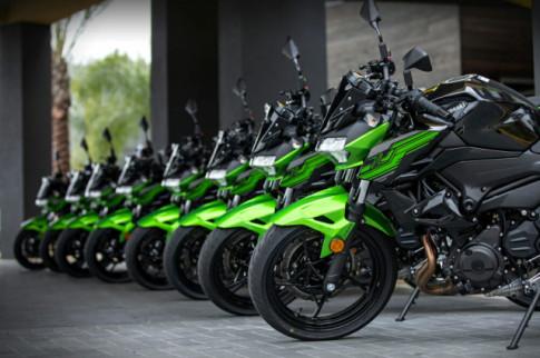 Can canh Kawasaki Z400 2020 tai Viet Nam va chuan bi ban ra vao cuoi thang 11